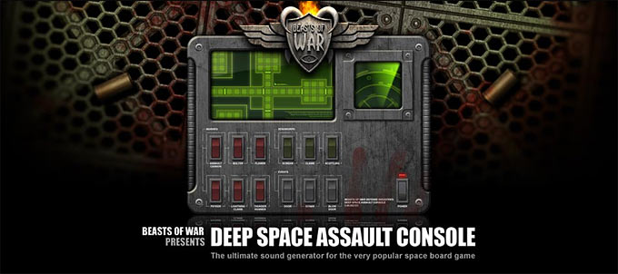 Deep Space Assault Console !
