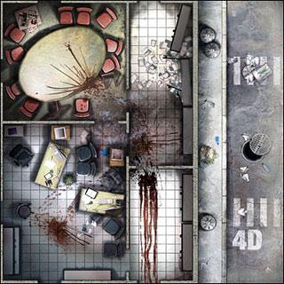 Zombicide Prison Outbreak Toxic City Mall Amp Rue Morgue