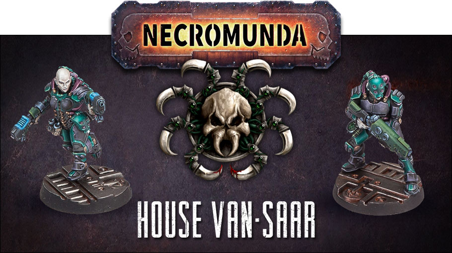 House Van-Saar - Preview des figurines du prochain Gang Necromunda !
